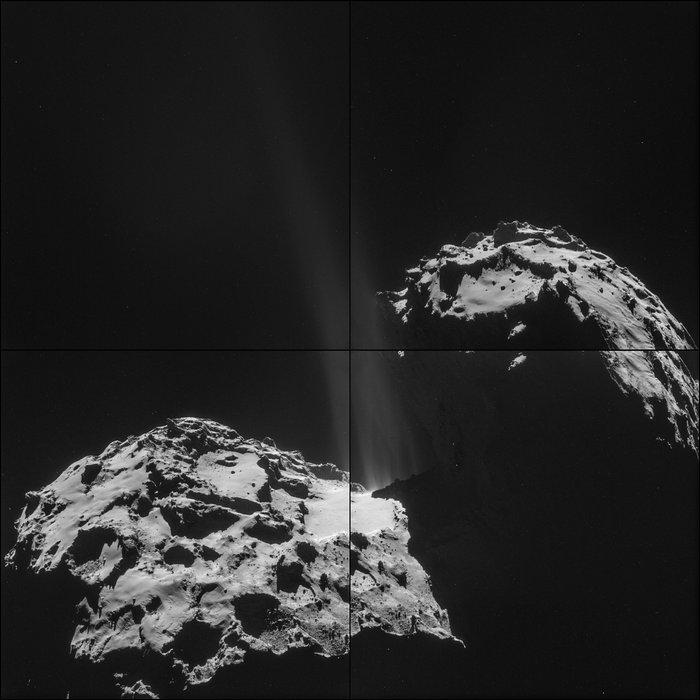 Rosetta : atterrissage et mission de Philae (Sujet N°1) - Page 4 Comet_on_26_September_NavCam_node_full_image_2