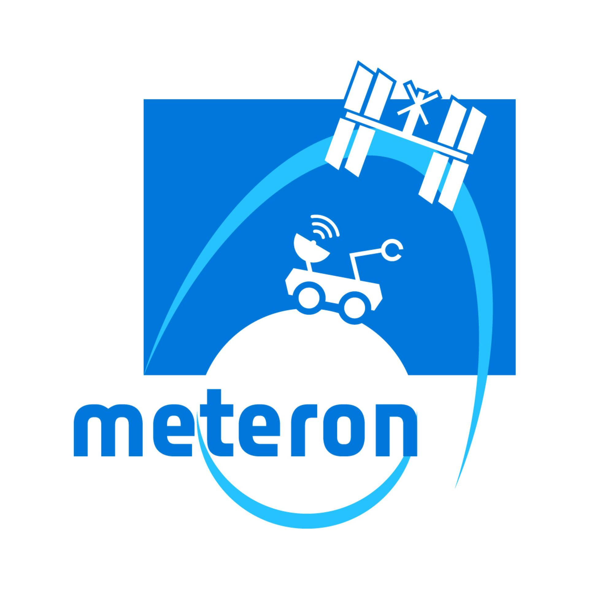 Télécommande d'un robot explorateur par un astronaute en orbite Meteron_logo_pillars