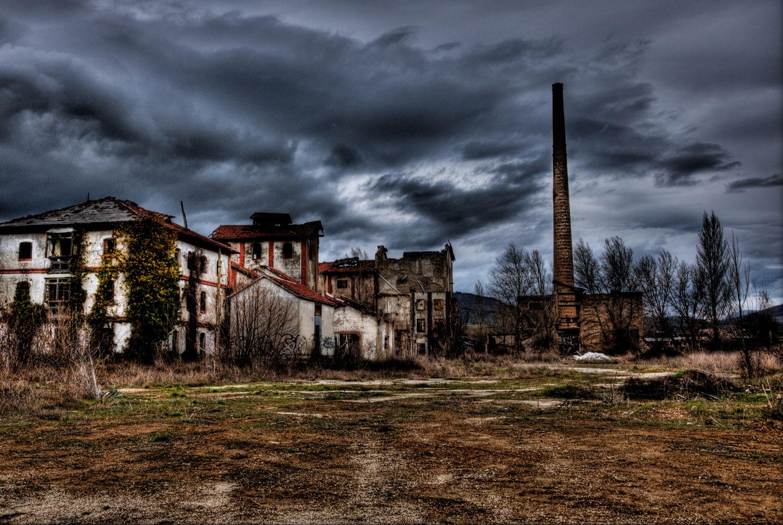 Los lugares abandonados más espectaculares de España Aserradero-de-Ekai-7