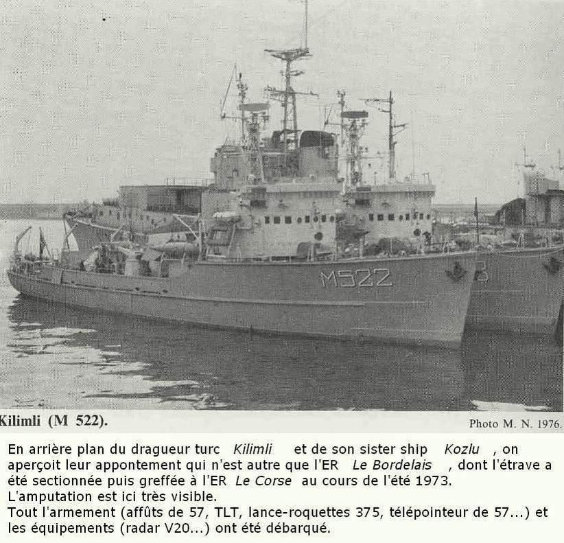Démineur Mercure classe de la Federal Navy 1: 250 Bordelais_1976_brest_pv