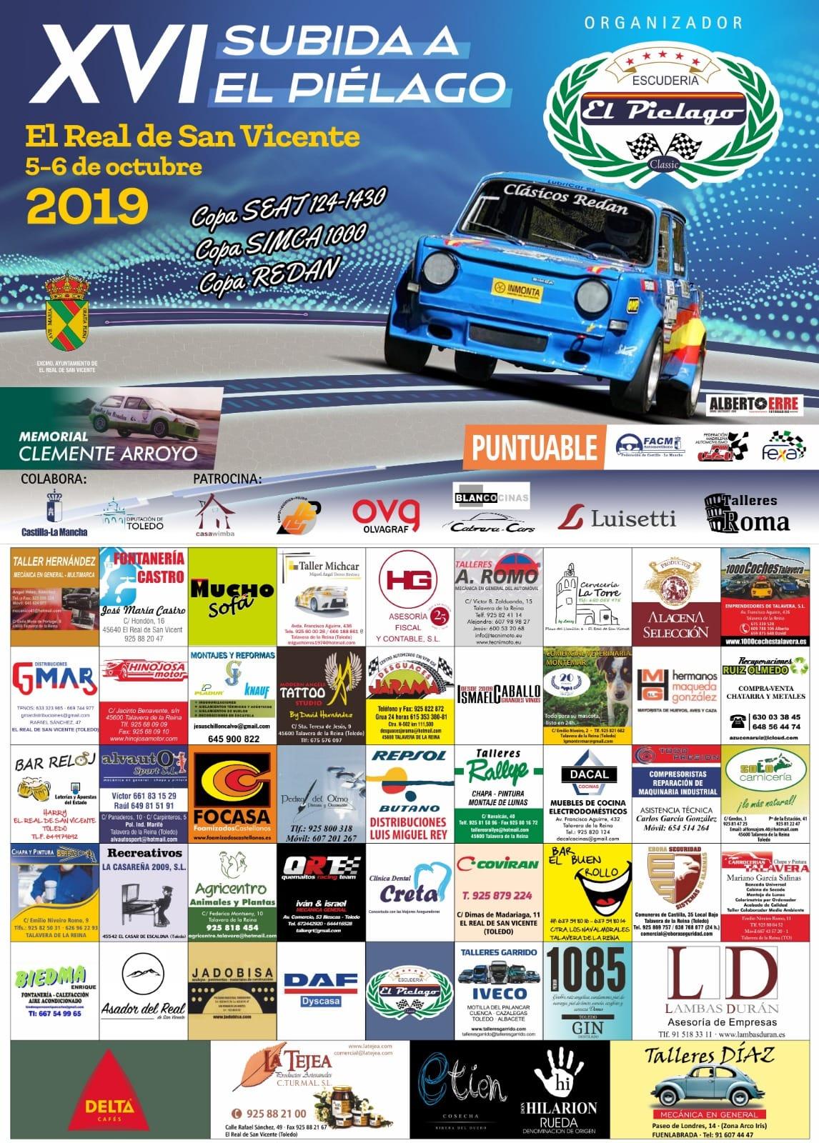 Campeonatos de Montaña Nacionales e Internacionales (FIA European Hillclimb, Berg Cup, MSA British Hillclimb, CIVM...) - Página 31 Cartel-con-patrocinadores