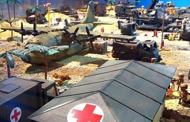Mundo viejuno: el topic del MODELISMO Diorama-playmobil