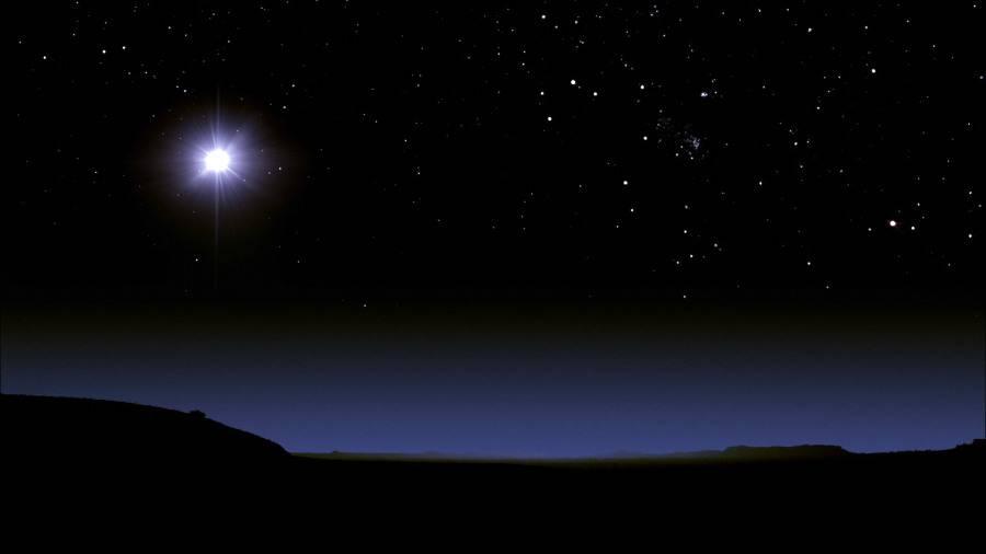 L'étoile de Bethléem a réapparu pour la 1ère fois depuis le Christ  %C3%A9toile-de-bethl%C3%A9em1