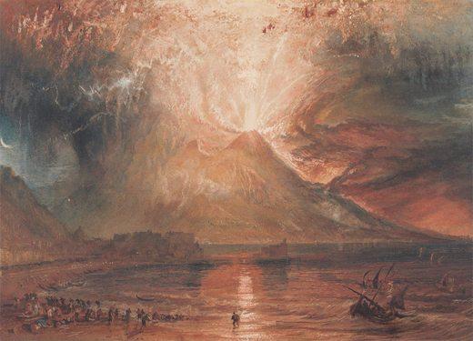 Z'ai braillé toute la journée et hier aussi... - Page 21 William-turner-eruption-vesuve
