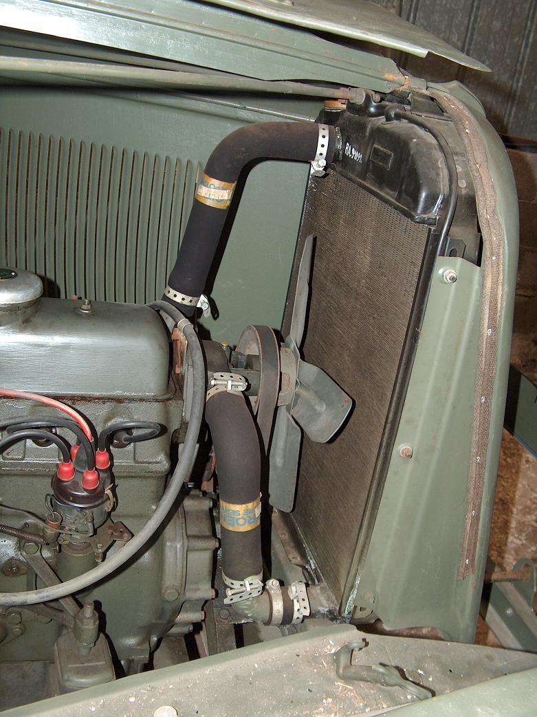 Citroën RU 23 1952 - Style militaire - Ru23motcotedroitradia