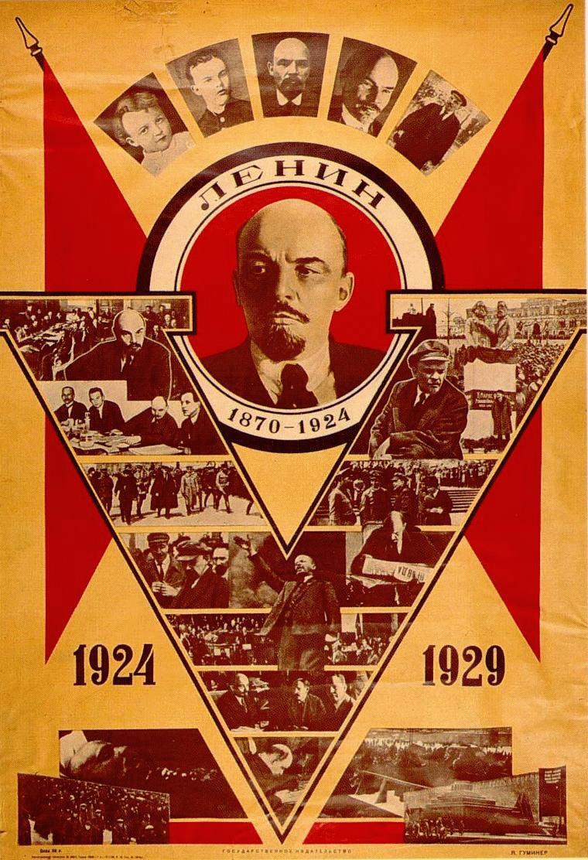 Documentos de una Revolución - Página 2 Lenin-poster