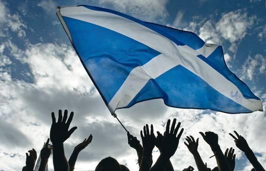 L'italia è una nazione? Scozia-bandiera