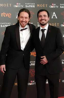 ¿Cuánto mide Alberto Garzón? - Altura 07FEB_MADRID_PABLO_IGLESIAS_GOYA(2)(250)