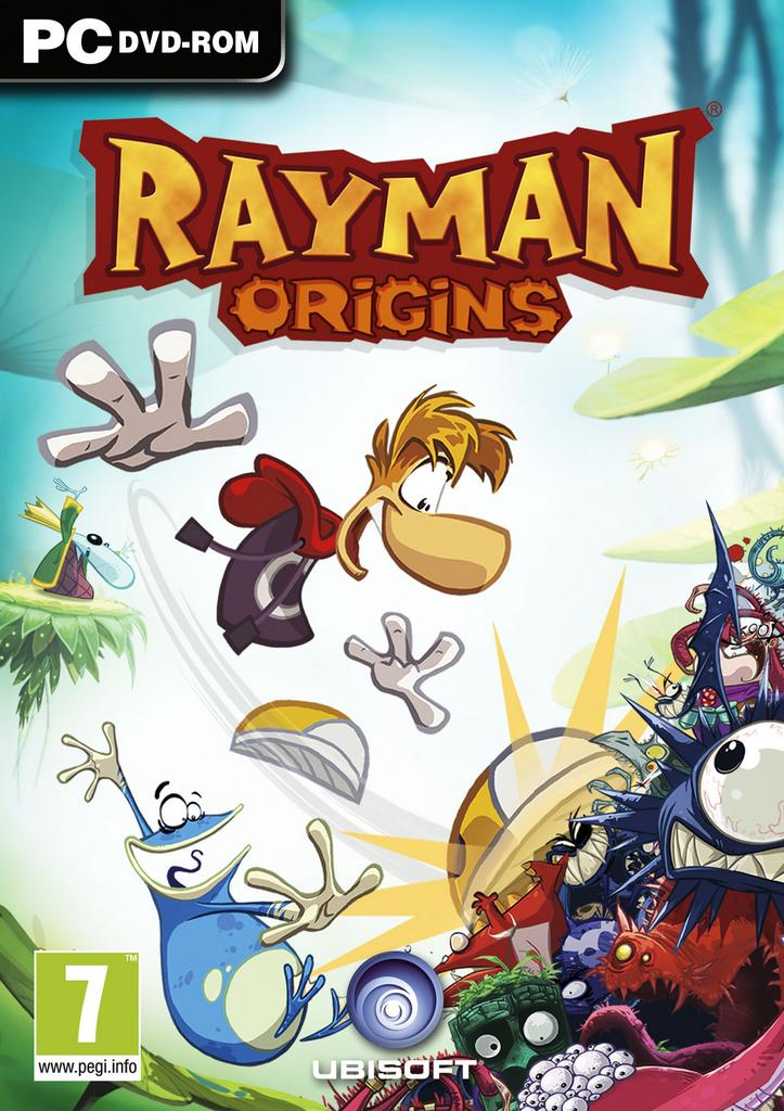 Rayman Origins [Full] [Español] [Mediafire] Rayman-Origins_PC_cover-2