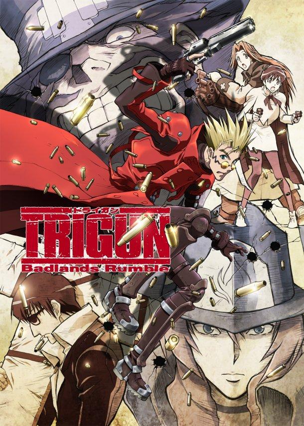 Trigun the movie: Badlands Rumble Trigun-Badlands-Rumble_cover_u