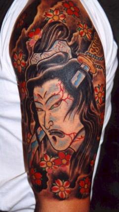 Body art II - les tatouages japonais Japan4