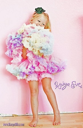 .× تشكيلــة للبنوتـــاتــ..} Kaiya-pink-shorts-rainbow