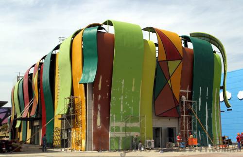 El Skyline de la Tierra Angola-pavilion-2010