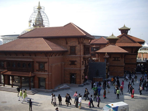 El Skyline de la Tierra Nepal-pavilion-shanghai-2010