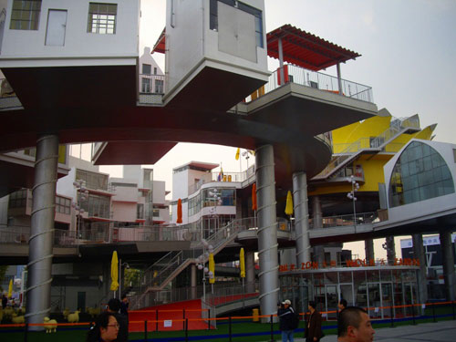 El Skyline de la Tierra Netherlands-pavilion-shanghai-2010