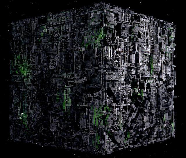 Votre vaisseau préféré - Page 3 Borg-cube-voy