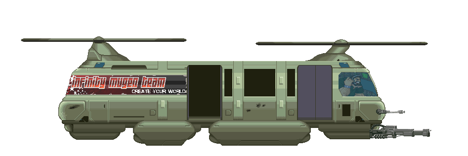 CROM The Game Characters list and sprite works - Page 3 IMThelicopter
