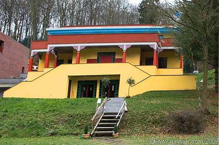 L'Institut Tibétain de Huy en Belgique  Tibet-nouveau-temple