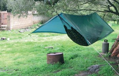 Le couchage lors d'un bivouac Hamac2-br