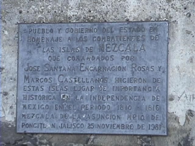 200 Aniversario de la batalla por La Isla de Mezcala (Lago de Chapala o Mar Chapalico) Cap0130