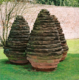 Land art (sculptures parfois éphémères) ANDY-GOLDSWORTHY-(Three-Con