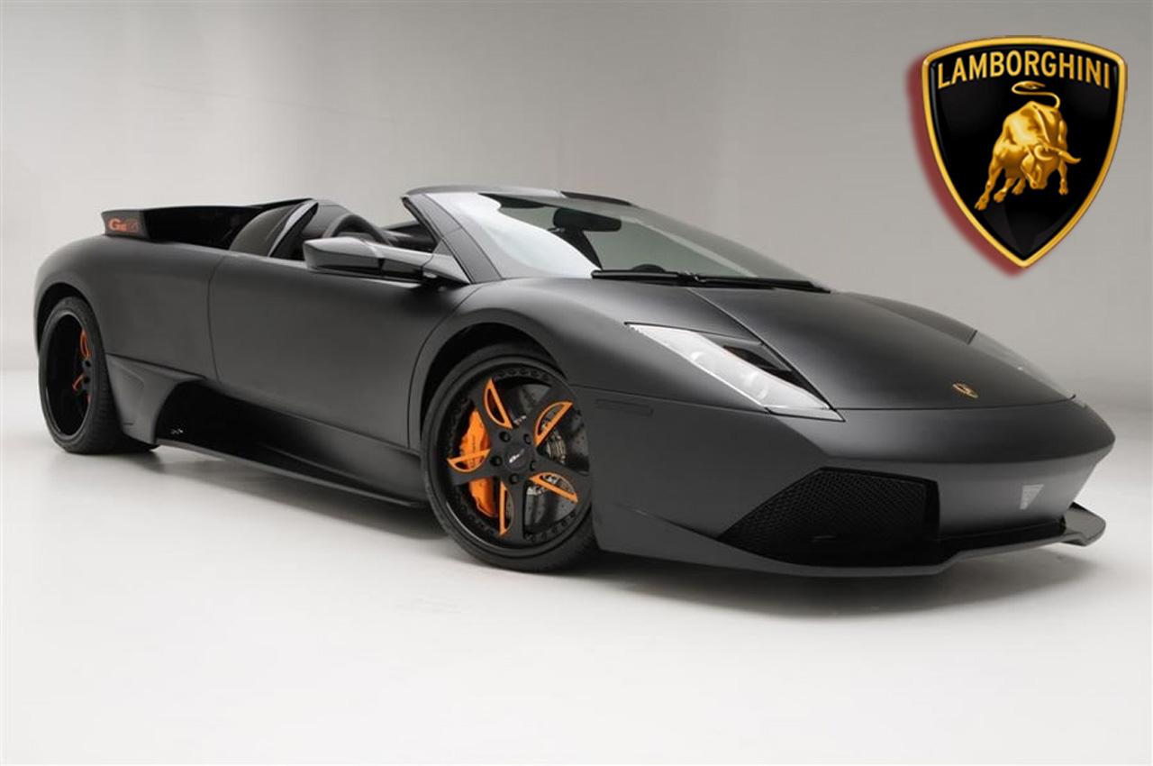 Calvin's Gear Matte-black-Lamborghini-Murcielago-LP650-4-Roadster-1