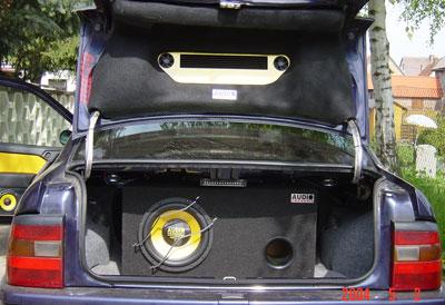 Wasser im Kofferraum  Kofferraum