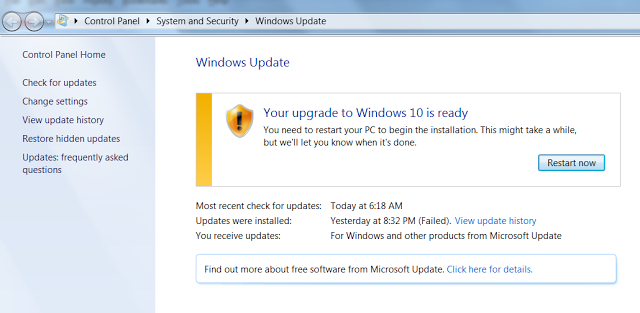 Windows Update error forces some users to upgrade to Windows 10 Upgrade-to-Windows-10-Is-Ready-640x313