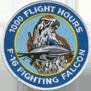 ترتيب الدول المالكة ل F-16 من حيث عدد الطيارين الذين تعدوااكثر من 1000 ساعة طيران 1kpatch