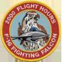 ترتيب الدول المالكة ل F-16 من حيث عدد الطيارين الذين تعدوااكثر من 1000 ساعة طيران 2kpatch