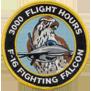 ترتيب الدول المالكة ل F-16 من حيث عدد الطيارين الذين تعدوااكثر من 1000 ساعة طيران 3kpatch