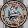 ترتيب الدول المالكة ل F-16 من حيث عدد الطيارين الذين تعدوااكثر من 1000 ساعة طيران 4kpatch