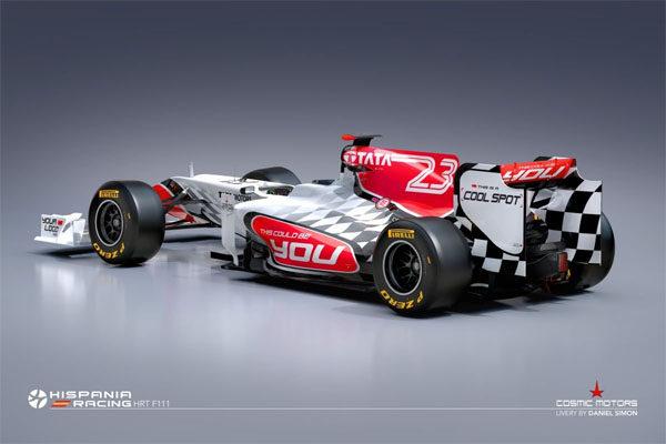 Hispania presenta por sorpresa su nuevo monoplaza para 2011, el F111 004_small