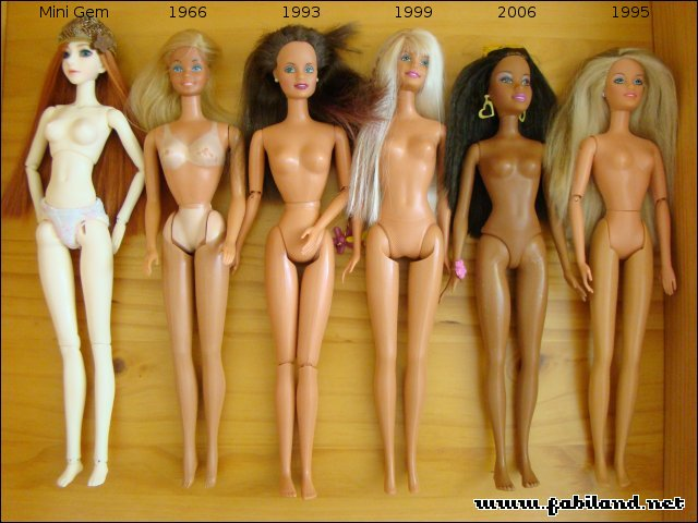 BJD 1/6 30cm tiny mature / adulte Comparatif2b