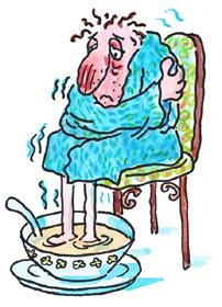finalmente è venerdì! Raffreddore