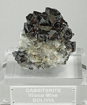PIEDRAS COLOR PLATA GRISACEA,MUY CONDUCTIVA NO FERROSA Casiterite-MT99X8fm