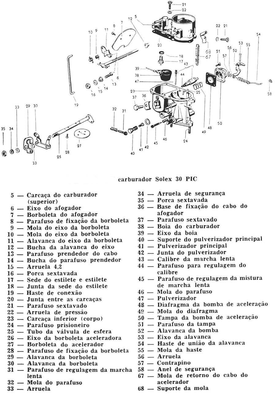 Pieza misteriosa de carburador H 30 PICS Carburador-solex-h30