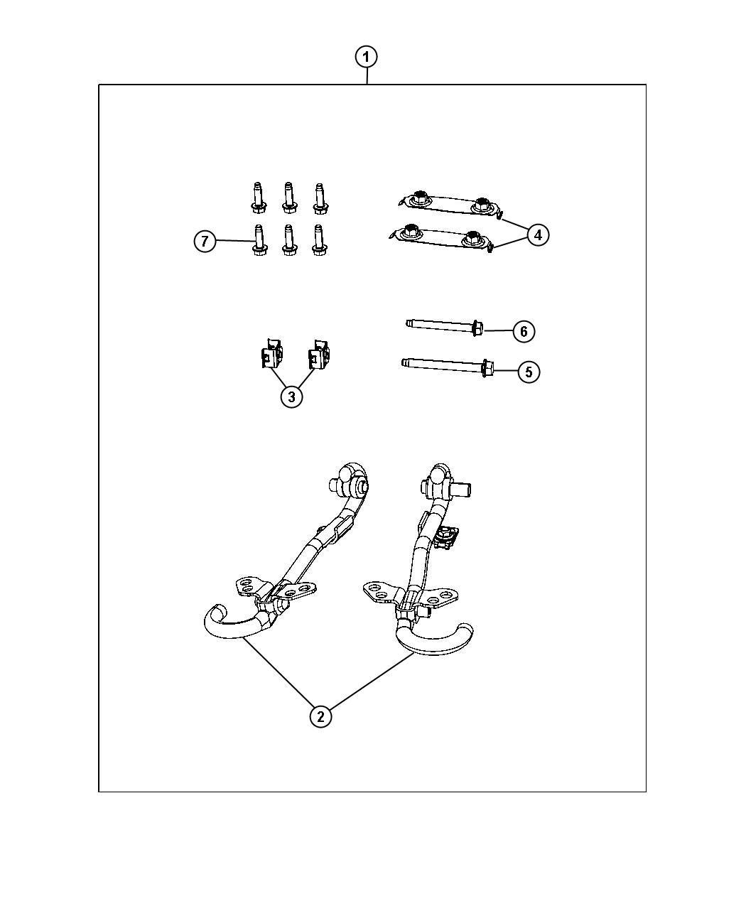 Кузов. Устанавливаем буксирные крюки на FD I (или хочу быть FD II) I2291098