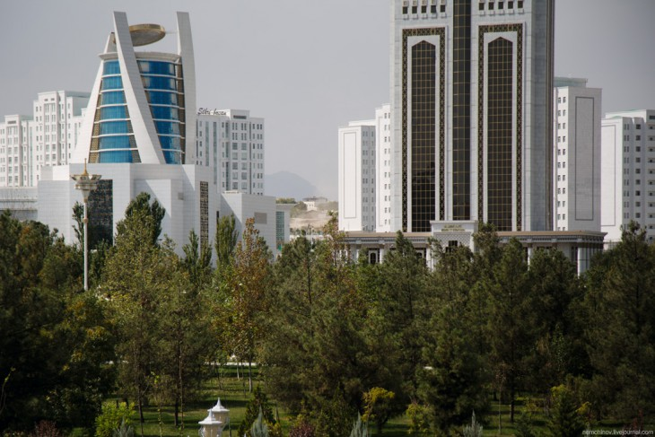 Ашхабад - самый закрытый город мира 1817-730x487