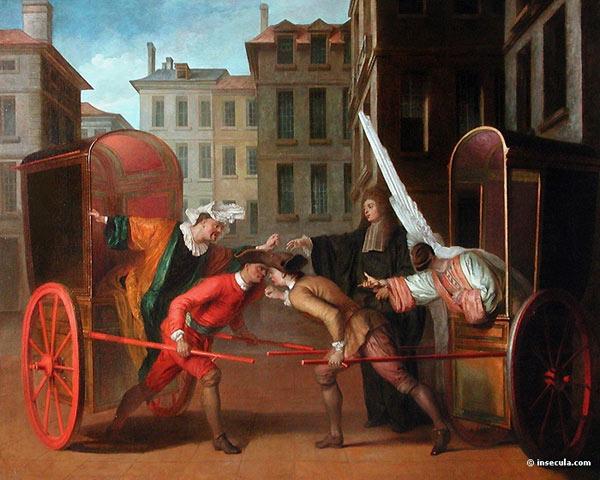 L'Opéra français et italien au XVIIème XVIIIème siècle Claude-gillot-carosses