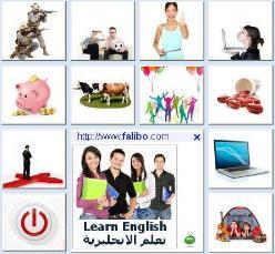 برنامج  للمحادثات باللغة الانجليزية يشمل  58 موضوع فى مختلف مواقف الحياة Falibo-conv