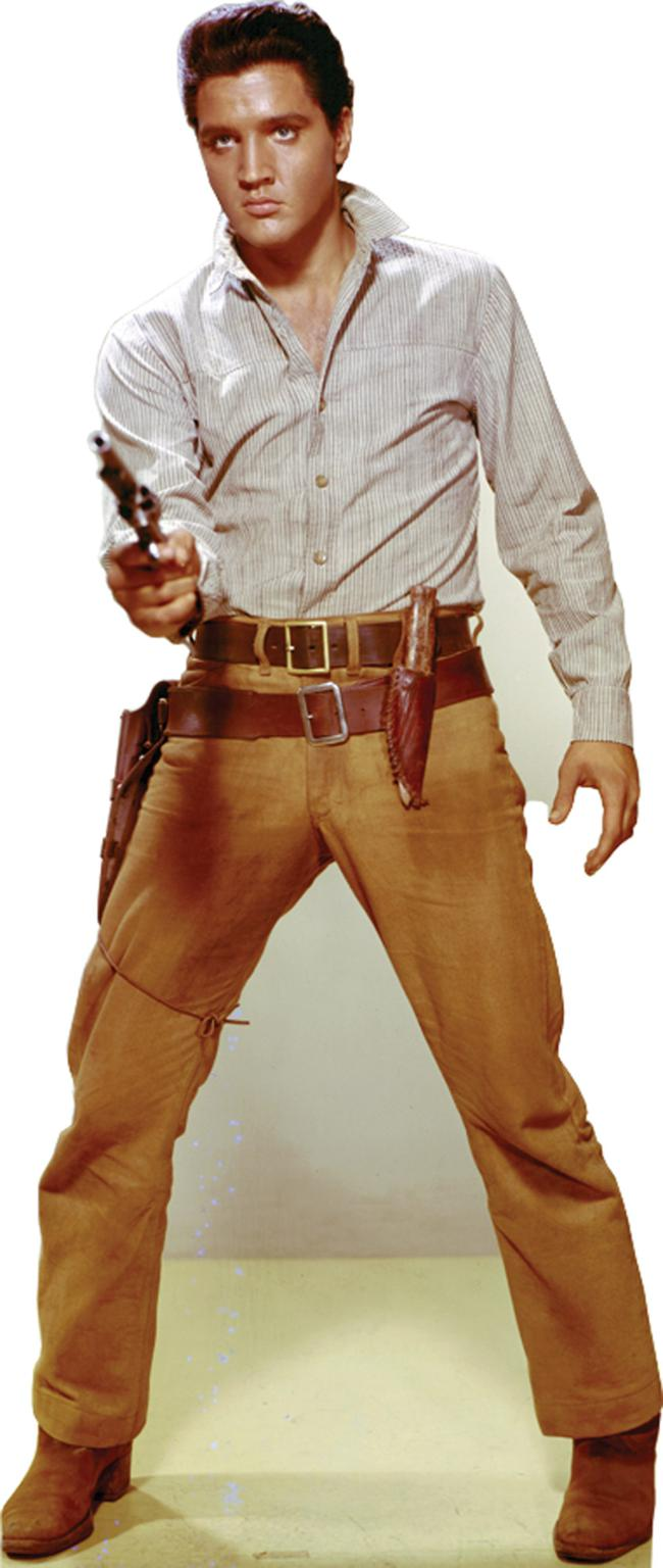 The Picture Jokes thread - Page 2 838-Elvis-Gunfighter
