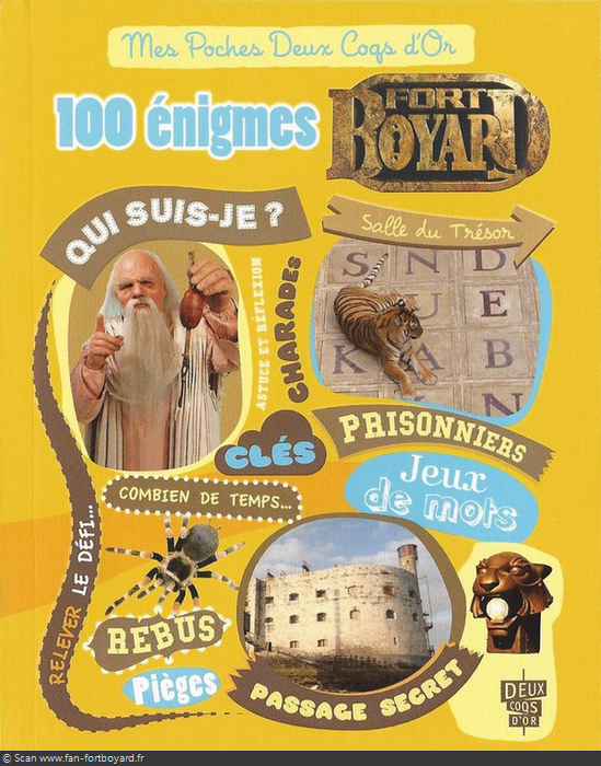 "Produit dérivé 2012 : ""100 énigmes Fort Boyard"" 100-enigmes-fort-boyard-2012-1"