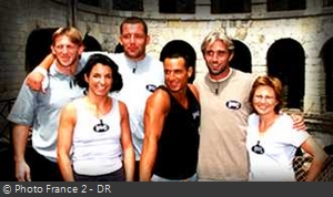 Fort Boyard 2000 - Émission 05 - Équipe Philippe Bernat-Salles Fort-boyard-2000-equipe-05