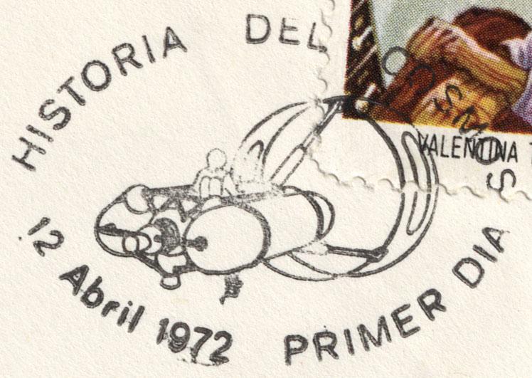 Astrophilatélie soviétique et pays de l'Est - Page 6 Cover_cuba_1972_1204_fdc_mi_1762_det