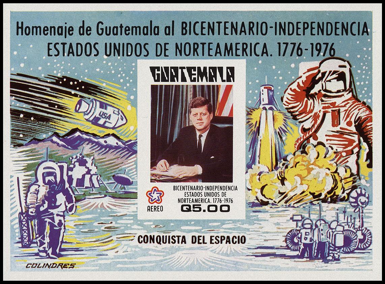 AstroPhilathélie - Page 8 Guatemala_1976_america_mi_block_23