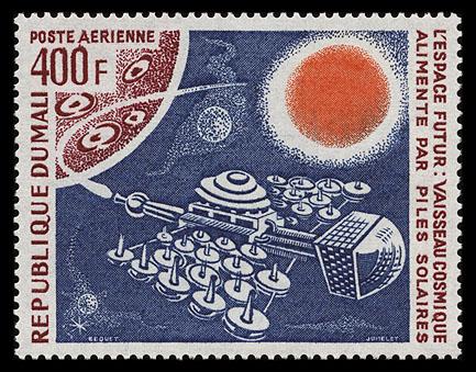 AstroPhilathélie - Page 8 Mali_1976_futurespace_mi_531