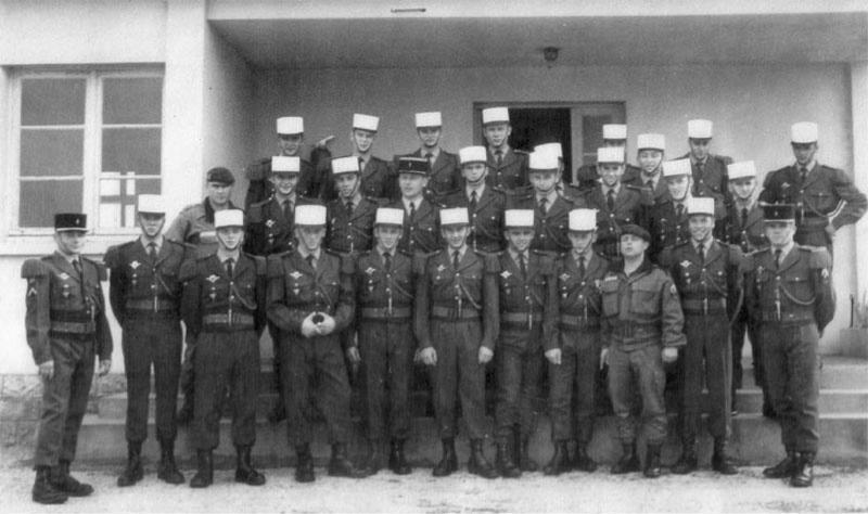 Qui se reconnait parmieux.  REP -1 ére Cie -  1972 41389
