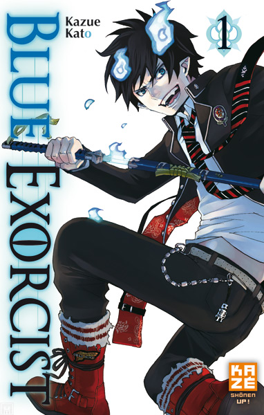 Blue Exorcist Blue-Exorcist-tome-1
