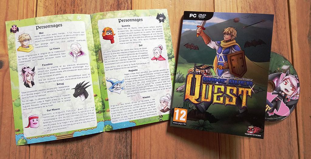 Gamer Over Quest : Le jeu où il faut mourir ! JacquetteGoQ